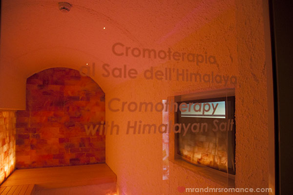 Best Western Hotel Galles Milan - himalayan salt room chromotherapy