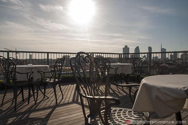 Best Western Hotel Galles Milan - mini rooftop area