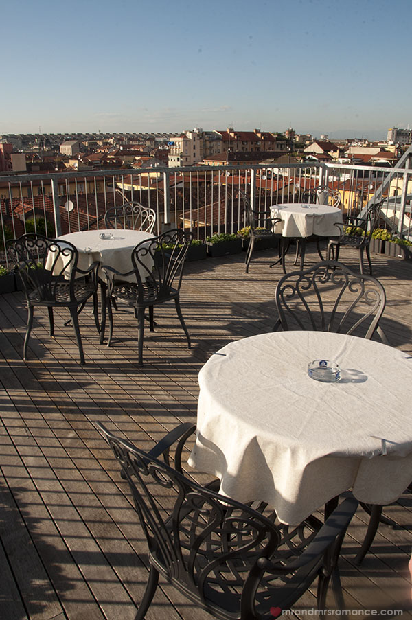 Best Western Hotel Galles Milan - the mini rooftop area
