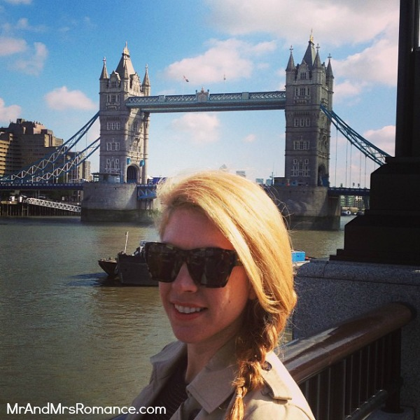 Mr & Mrs Romance - European Romance London - 11 MM8 Tower Bridge & Mrs R