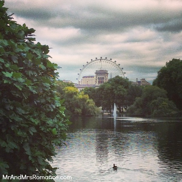 Mr & Mrs Romance - European Romance London - 14 MM10 St James Park