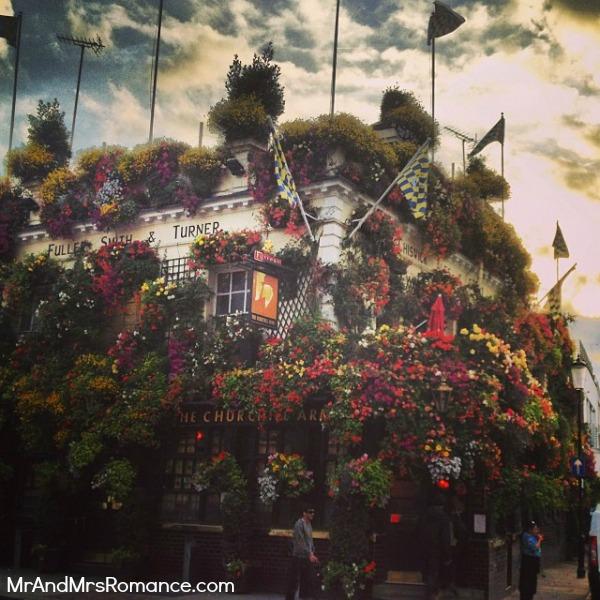 Mr & Mrs Romance - European Romance London - 2 MM2 The Churchill Arms