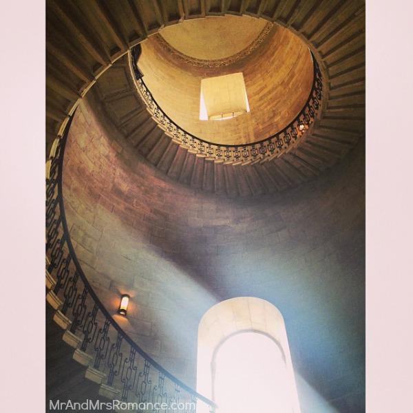 Mr & Mrs Romance - European Romance London - 23MM18 Stairs in St Paul