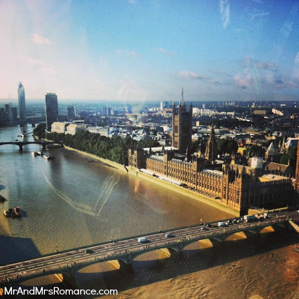 Mr & Mrs Romance - European Romance London - 5 HR5 London Eye