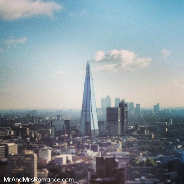Mr & Mrs Romance - European Romance London - 7 MM5 The Shard