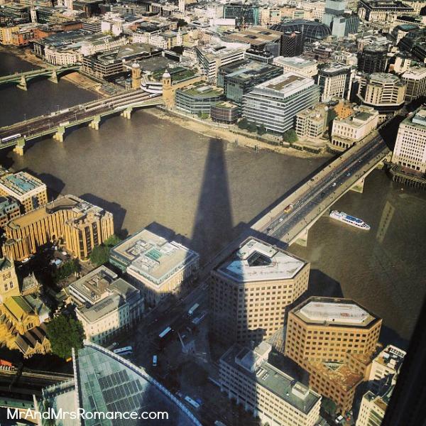 Mr & Mrs Romance - European Romance London - 8 MM6 Shadow of the Shard