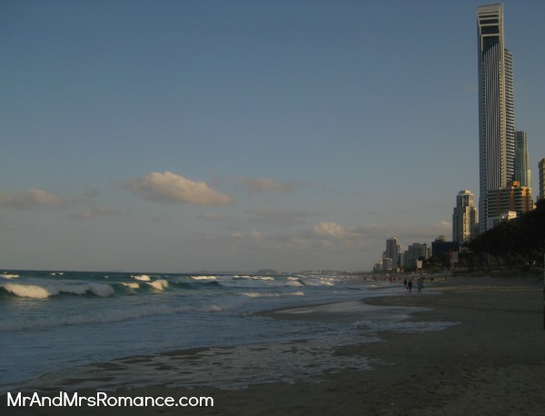 Mr & Mrs Romance - Gold Coast - beach 1