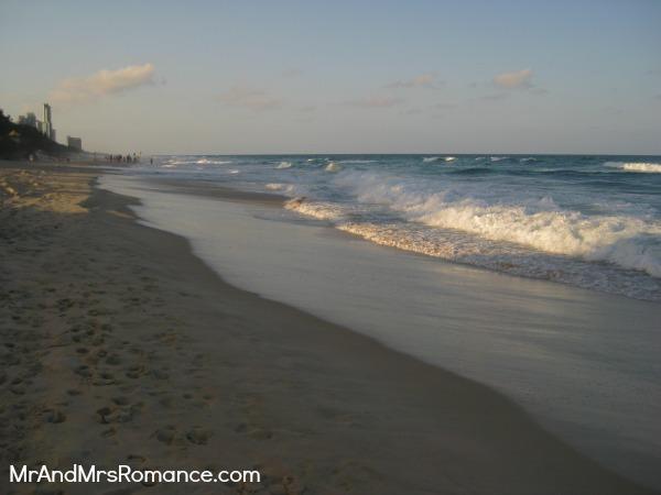 Mr & Mrs Romance - Gold Coast - beach 2