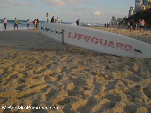 Mr & Mrs Romance - Gold Coast - surfboard