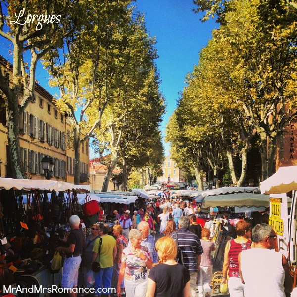 Mr & Mrs Romance - Instagram diary S France - 04 MM 2 Lorgues market