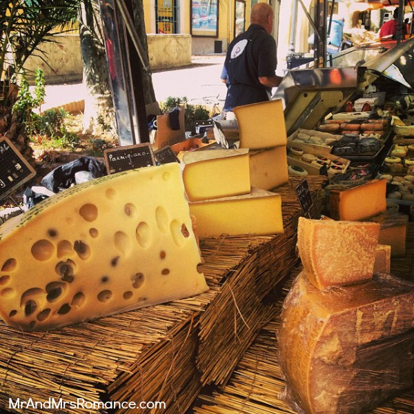 Mr & Mrs Romance - Instagram diary S France - 06 MM 3 Lorgues cheese