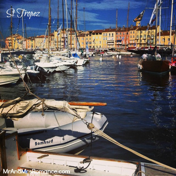 Mr & Mrs Romance - Instagram diary S France - 08 HR 2 St Tropez boats