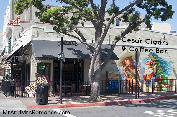 Mr & Mrs Romance - San Diego cigar trail - Cesar's 1