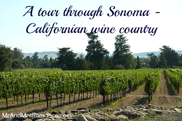 Mr & Mrs Romance - Sonoma - 1 grapevines