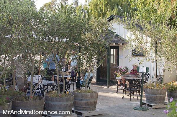 Mr & Mrs Romance - Sonoma - 17 cline winery setting