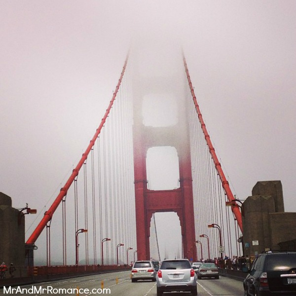 Mr & Mrs Romance - Sonoma - 18 Golden Gate Bridge