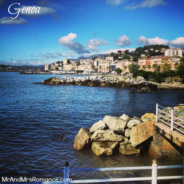 Mr & Mrs Romance - Trieste Gorizia Genoa - 011 Genova title