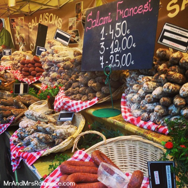 Mr & Mrs Romance - Trieste Gorizia Genoa - 05 salumi stall food festival