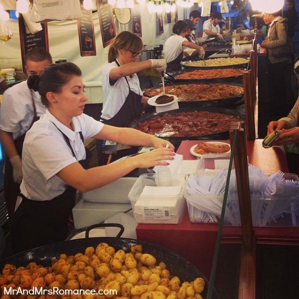 Mr & Mrs Romance - Trieste Gorizia Genoa - 06 raclette stall
