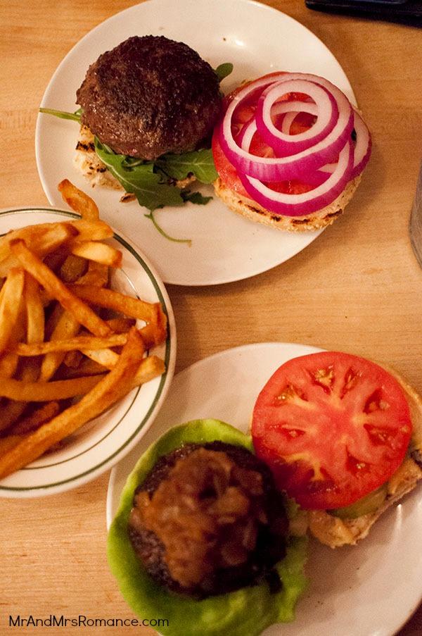 Mr & Mrs Romance - USA '13 NYC - 6 Whitmans burger East Village