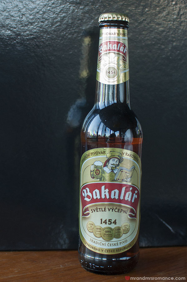 Mr and Mrs Romance - Czech beer review - 4 Bakalar Czech beer review