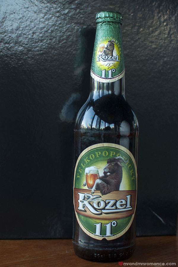 Mr and Mrs Romance - Czech beer review - 6 Kozel Czech beer review