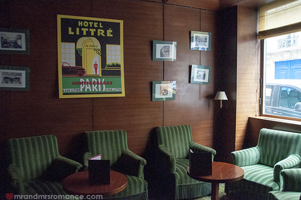 Mr and Mrs Romance - Hotel Littres Paris 4