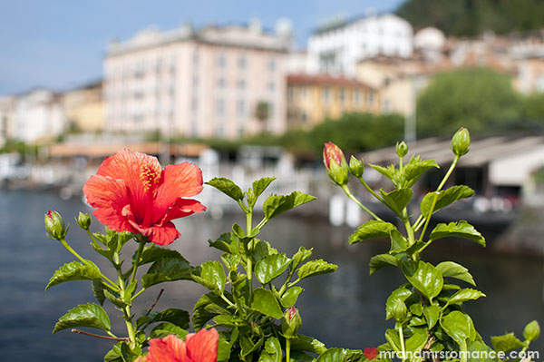 Mr and Mrs Romance - Lake Como Italy
