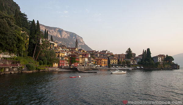 Mr and Mrs Romance - Varenna on Lake Como Italy