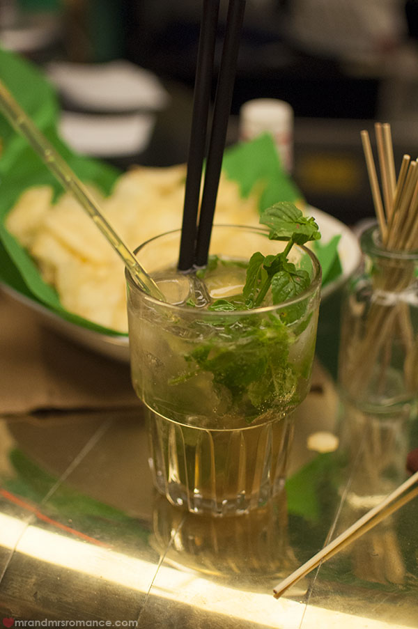 Mr and Mrs Romance = Where to drink in Trieste - James Joyce mojito