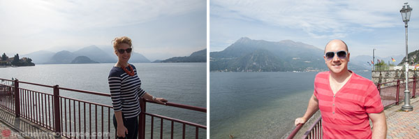 Mr and Mrs Romance at Lake Como Italy