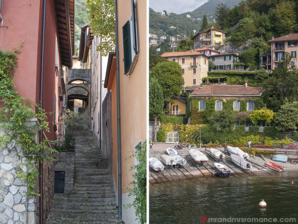 Mr and Mrs Romance - exploring Varenna at Lake Como Italy