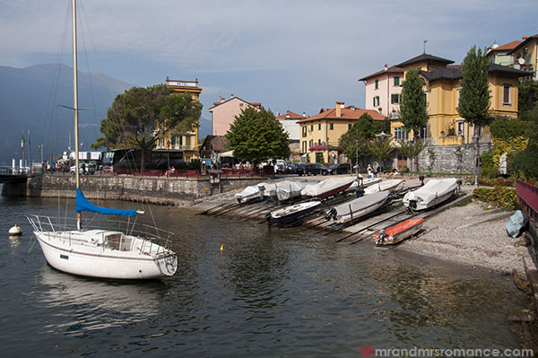 Mr and Mrs Romance in Varenna at Lake Como Italy