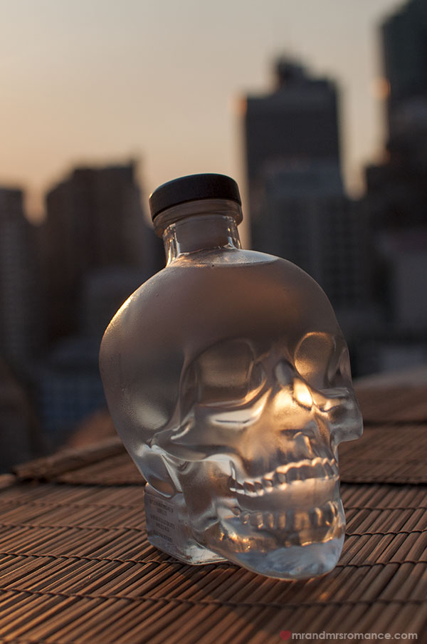 Mr and Mrs Romance x Crystal Head Vodka