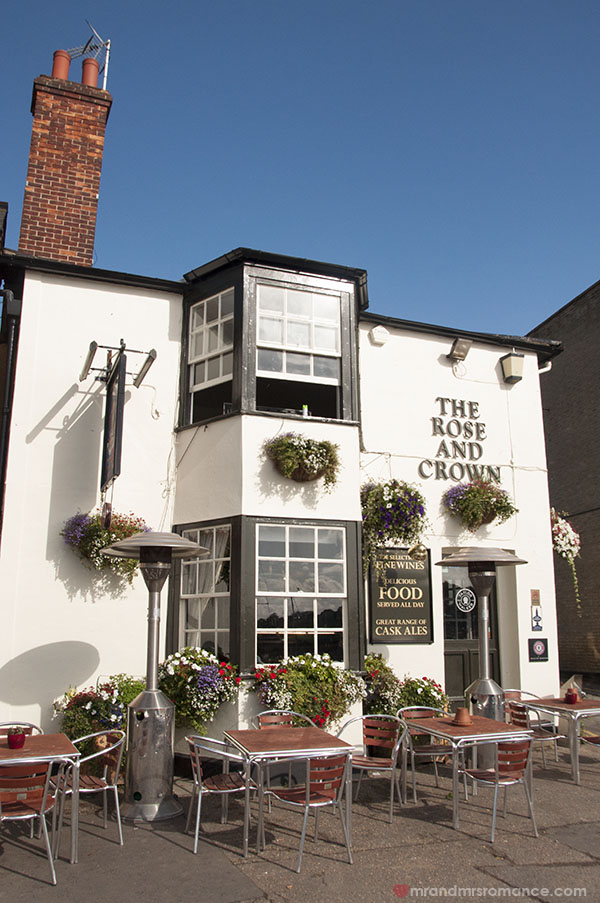 Where to drink - The Rose and Crown Wivenhoe Essex 11