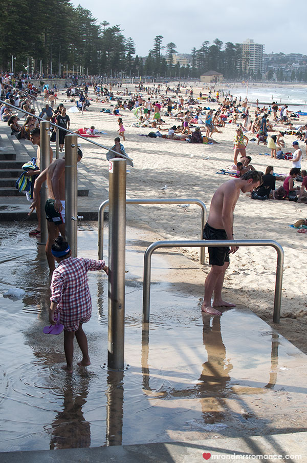 Beach showers - look like a local on Australian beaches