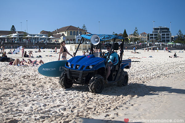 Bondi Rescue - lifesavers and lifeguards in Australia