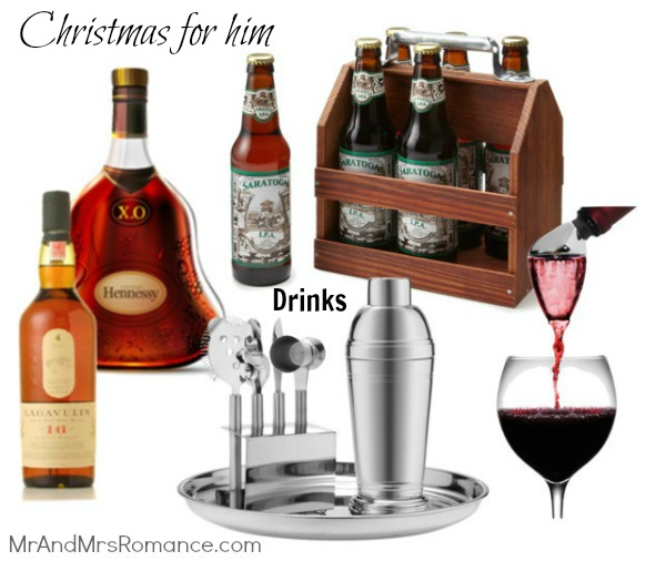 Mr & Mrs Romance - Christmas for him - 1 Drinks presents 2