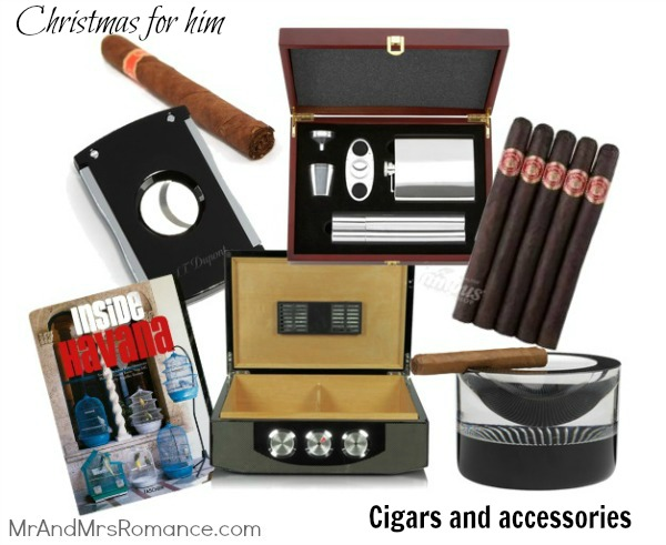 Mr & Mrs Romance - Christmas for him - 2 Cigar presents 2