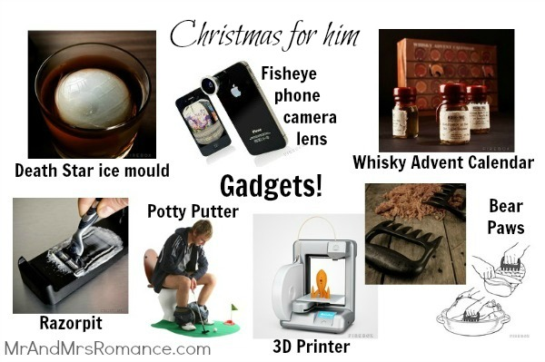 Mr & Mrs Romance - Christmas for him - 6 Gadgets presents 2