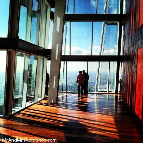 Mr & Mrs Romance - European Romance London - 10.1 AB1 inside the Shard
