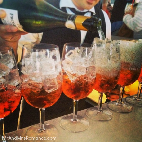 Mr & Mrs Romance - European Romance - MM5 Spritz Aperol party Icebergs1
