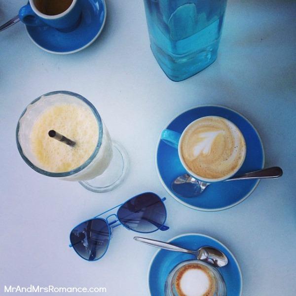 Mr & Mrs Romance - Insta Diary - MM10 coffee vignette!