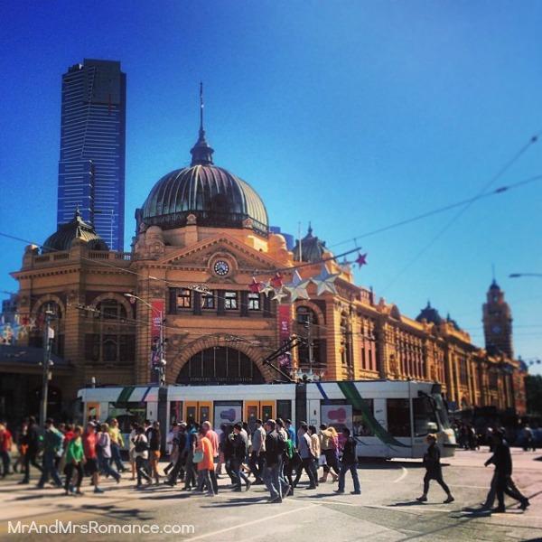 Mr & Mrs Romance - Insta Diary - MM13 Flinders Street Station