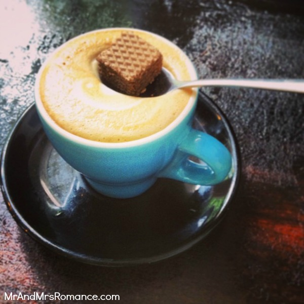 Mr & Mrs Romance - Instagram diary - MM 1 Coffee time!