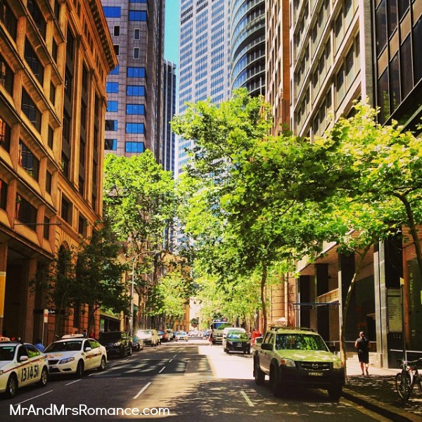 Mr & Mrs Romance - Instagram diary - MM 4 Sydney in the sun finally