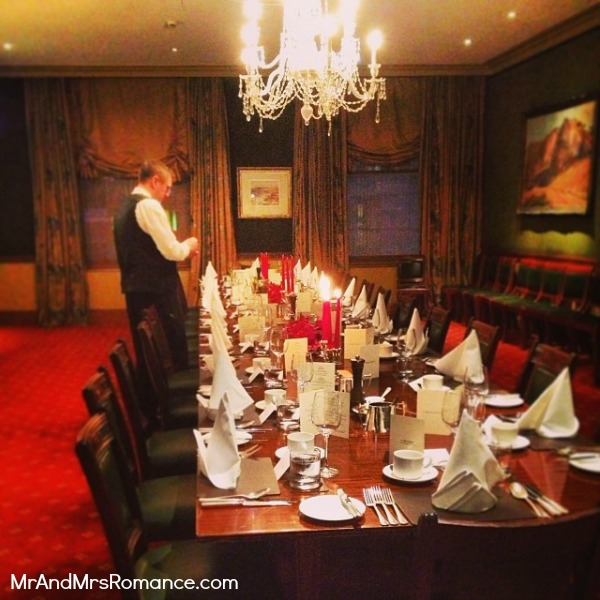 Mr & Mrs Romance - Instagram diary - MM 8 banquet table for Max' birthday