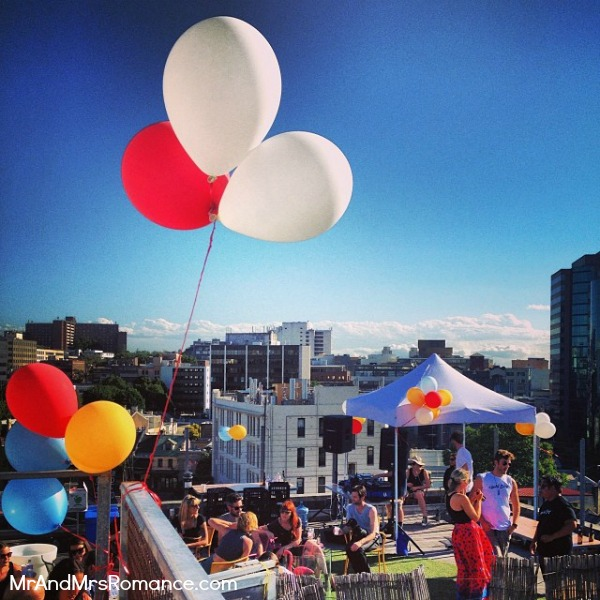 Mr & Mrs Romance - Instagram diary - MM 9 rooftop market and bar in Surry Hills