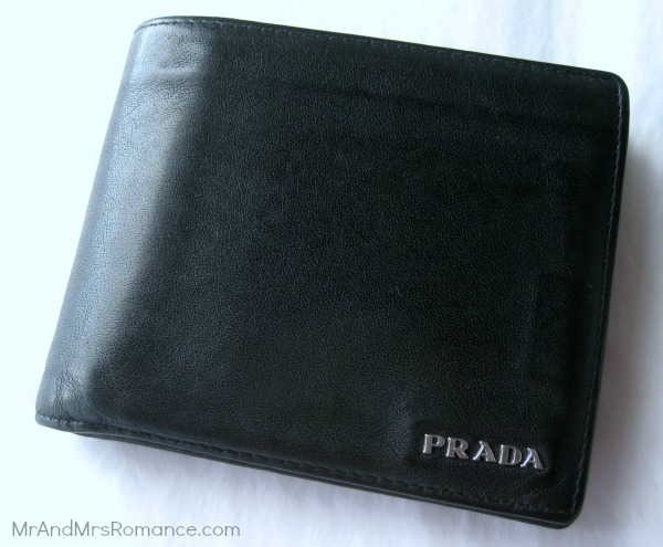 Mr & Mrs Romance - best present - 6 Prada wallet