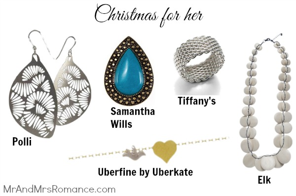 Mr & Mrs Romance - her Christmas - Jewellery